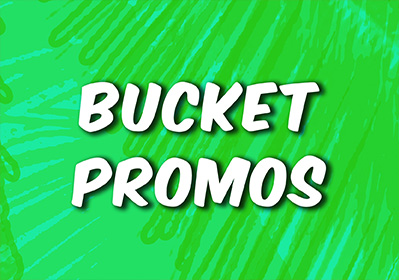 Asahi Super Dry Bucket Promo