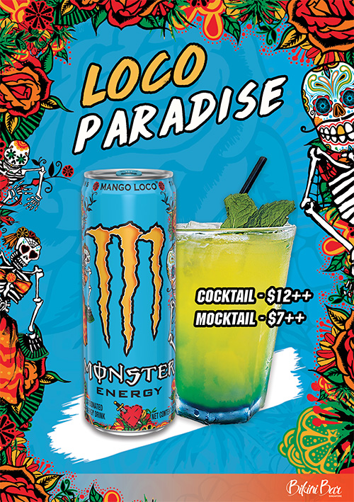 Monster Energy Loco Paradise Cocktail